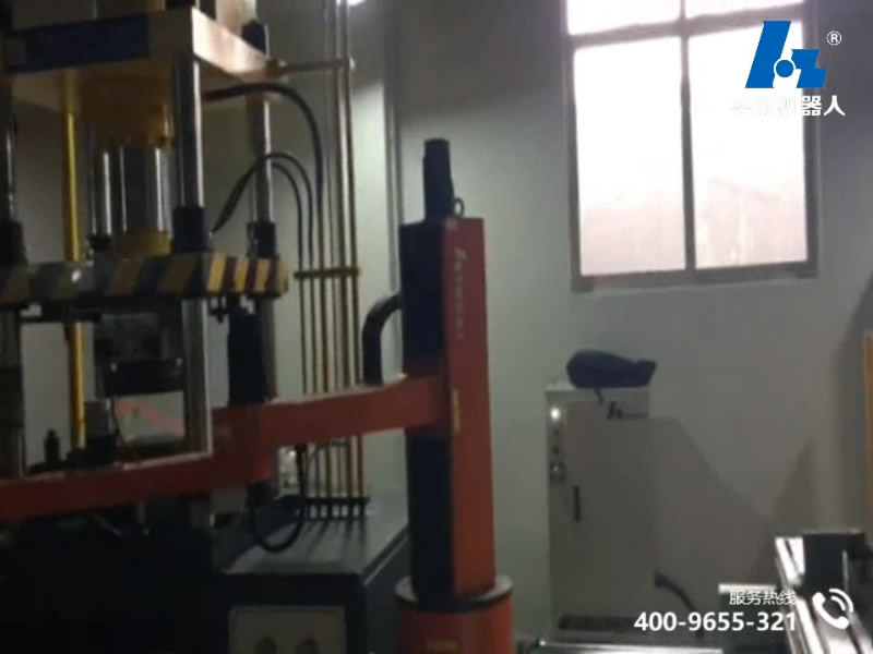 Hardware stamping production line