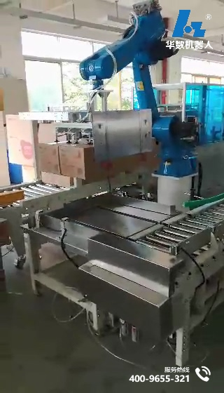application of Home appliance palletizing