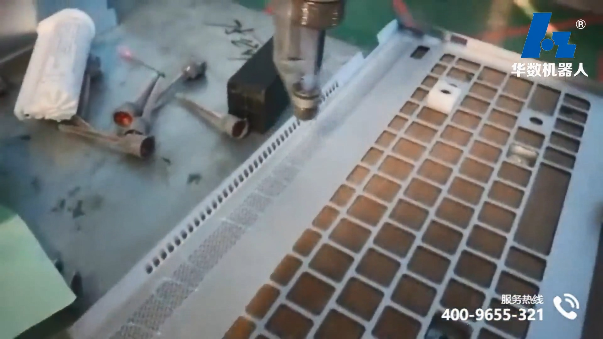 video of laptop gluing application