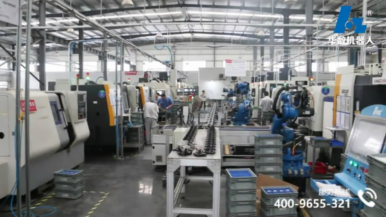 Shell processing intelligent machine tool production line