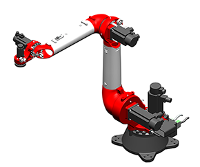 BR5110 Three-dimensional model of palletizing robot.zip